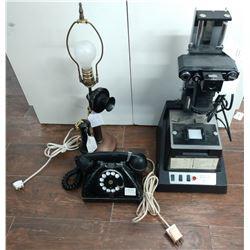 2 Old Phones & Slide Reproducer