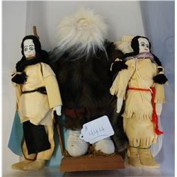 3 Canadian Dolls