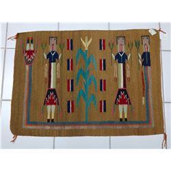 Navajo Yei Weaving