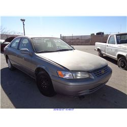1997 - TOYOTA CAMRY//DISMANTLE TITLE ONLY