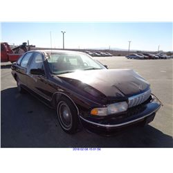 1995 - CHEVROLET CAPRICE// DISMANTLE TITLE ONLY