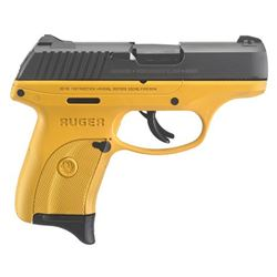 RUGER LC9S 9MM BL/YELLOW 7+1 AS SFTY 3269 | CONTRACTOR YELLOW FRAME 9mm