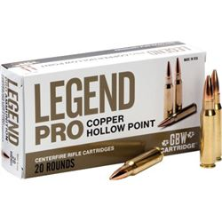 GBW AMMO .300 AAC BLACKOUT 125GR SOLID COPPER HP 20-PACK
