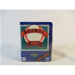 1989 Upper Deck High # Series Collectors Choice Sealed Baseball Cards