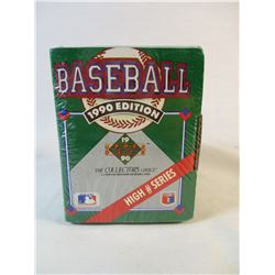 1990 Edition Upper Deck High # Series Sealed Collectors Choice
