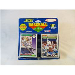 1992 Score 101 Player Cards Series 1 in Blister Pack