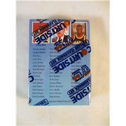 Courtside Sollege Flashback Baseketball Set 45 Cards Sealed