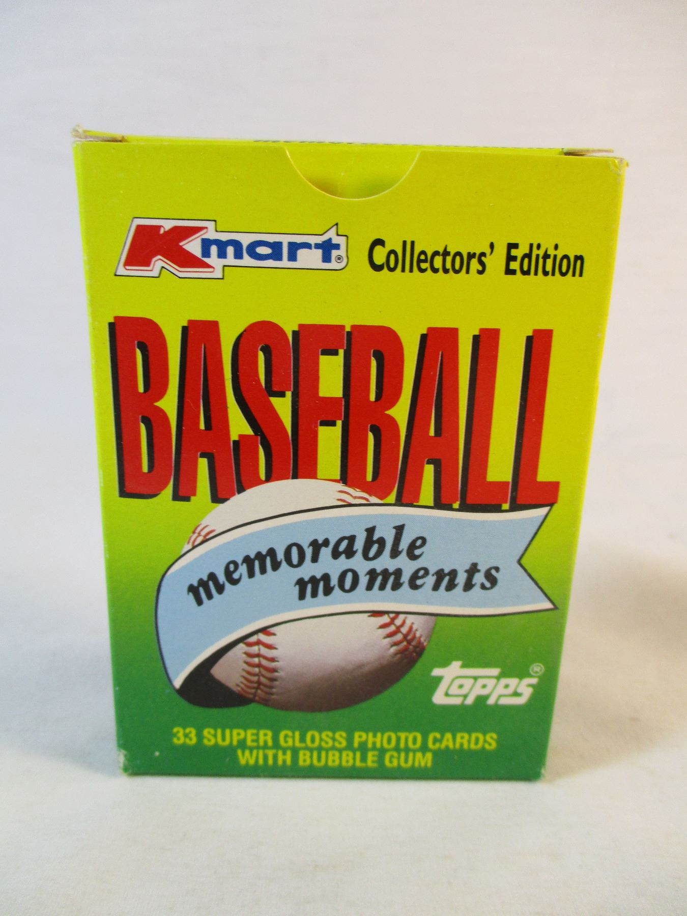 1988 Kmart Collectors Edition Topps Baseball Cards With Gum
