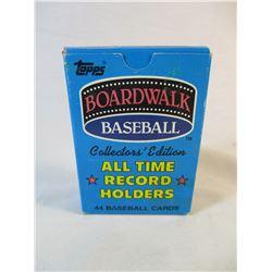 Boardwalk Baseball Topps Record holders 1987