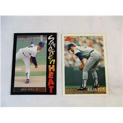 2 Nolan Ryan Baseball Cards