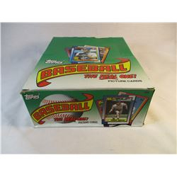 1990 Topps baseball Cards Unopened NIB Dispaly Box 24 Packs of 46 Cards