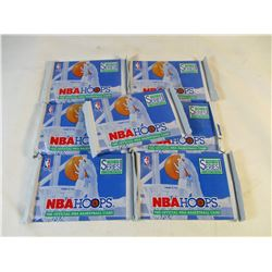 1992 Skybox NBA Hoops Basketball Cards 7 Unopened Packs