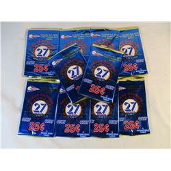 10 Packs 1993 Pacific Nolan Ryan Texas Express Cards Unopened
