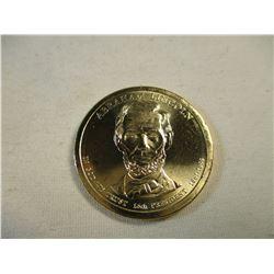 $1 Abraham Lincoln 2010 Commemorative Coin