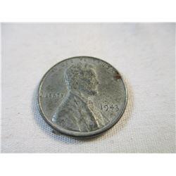 1943 War Time Steel Penny