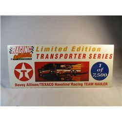Limited Edition Transporter Series 1 of 7500 1993 Davey Allison Texaco Set