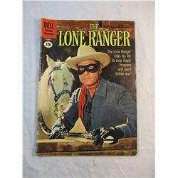 The Lone Ranger Dell Comic March 1961 Vol 1 No 138.
