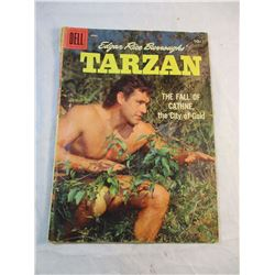 Tarzan And the Fall of Cathne Vol 1 No. 103 April 1958 Dell Comic