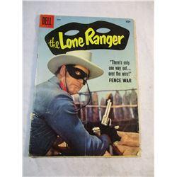 The Lone Ranger Dell June 1958 Fence War Comic Vol 1 No 120