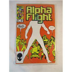 Alpha Flight #25 August 1985