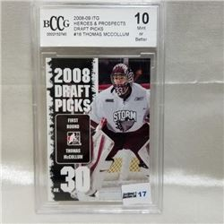 2008-09 ITG Heroes & Prospects Draft Picks