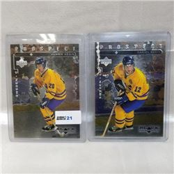 1999 Upperdeck Prospects (2 Cards)