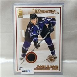 2004 Pacific Trading Card - Game Worn Jersey