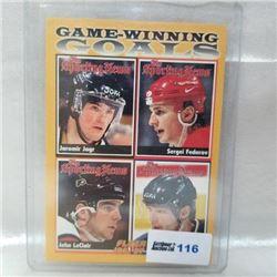 1996 Fleer - Game Winning Goals