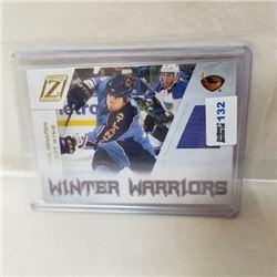 2011 Panini - Winter Warriors - Game Worn