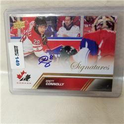2013 Upper Deck - Team Canada - Signatures
