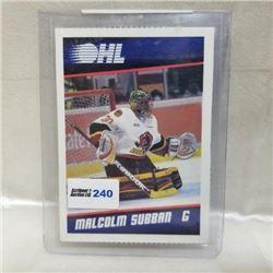 2011-12 OHL Card - Belleville, Bulls