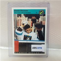 1993 Classic Cards - First Lady of Hockey