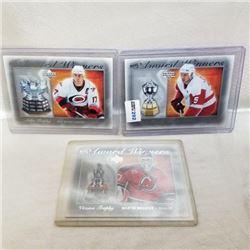 2007-08 Upper Deck - NHL's Award Winners (3 Cards)