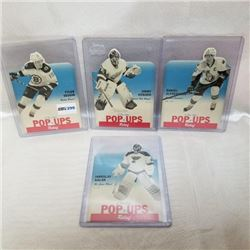 2012-13 O-Pee-Chee POP UPS Relief (4 Cards)