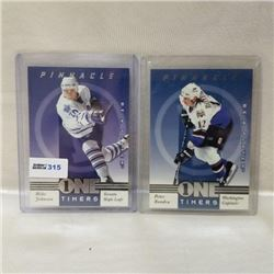 1998 Pinnacle - One Timers (2 Cards)