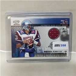 2003 Pacific Card - CFL - Authentic Game Worn Jersey