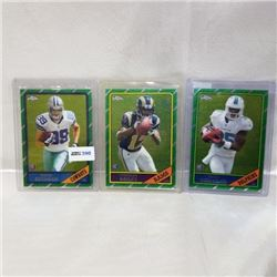 2013 Topps Chrome - NFL - Rookie (3 Cards)