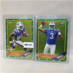 2013 Topps - NFL - Chrome - Rookie (2 Cards)