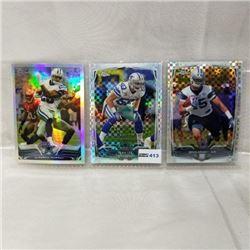 2013/2014 Topps Chrome - NFL (3 Cards)