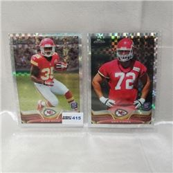 2013 Topps Chrome - NFL (2 Cards)