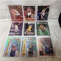 Variety - NBA (9 Cards)