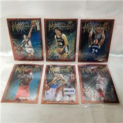 NBA - Finest Mainstays (6 Cards)