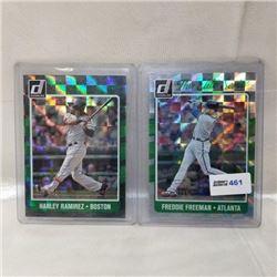 2017 Panini - MLB - The Elite Series (2 Cards)