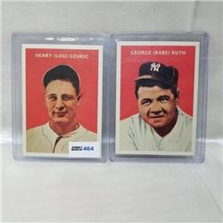 2011 Topps - MLB - 1932 U.S. Caramel (2 Cards)