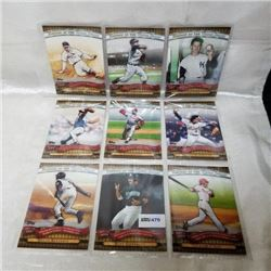 2010 Topps - MLB - History of the World Series (9 Cards)