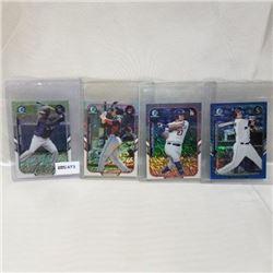 2015 Topps - MLB - Chrome (4 Cards)