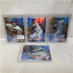 2016 Topps - MLB - Opening Day (4 Cards)