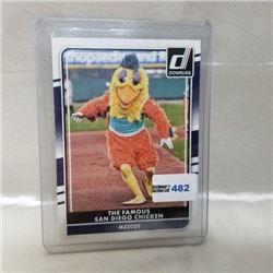 2016 Panini - MLB - Mascot