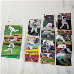 Clevland Indians - MLB (27 Cards)