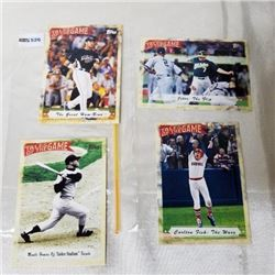 2010 Topps - MLB - Tales of The Game (4 Cards)
